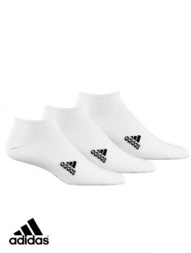 adidas sport 3 pack Linear Ankle Socks with comfort cushioning unisex Z11289